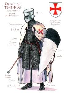 Un Templier avec une masse (et une épée)
