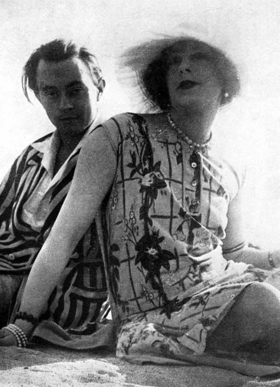 Lili Elbe et Claude Lejeune (1928)