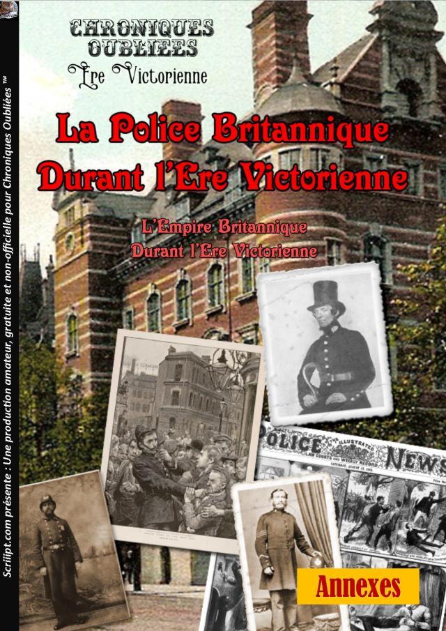 La Police Britannique durant l'Ère Victorienne