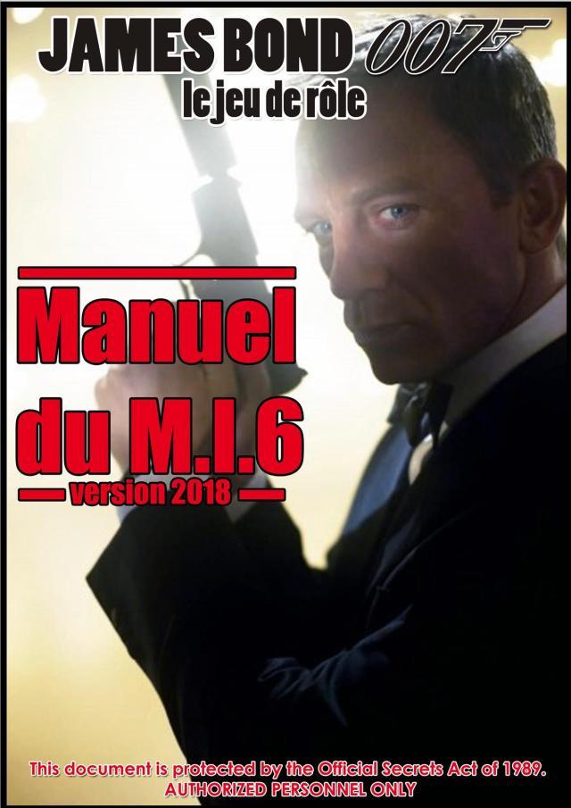 Le Manuel du MI6 version 2018