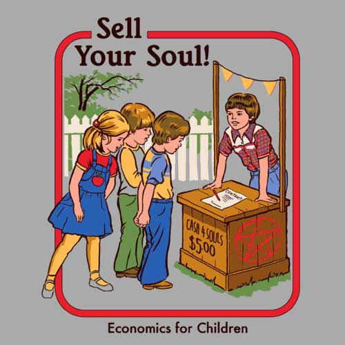 Sell your soul - Steven Rhodes