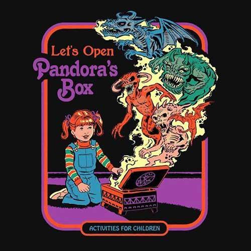 Let's open Pandora's Box - Steven Rhodes