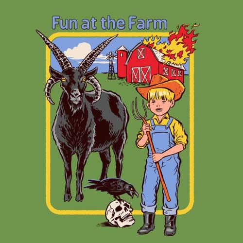 Fun at the farm - Steven Rhodes