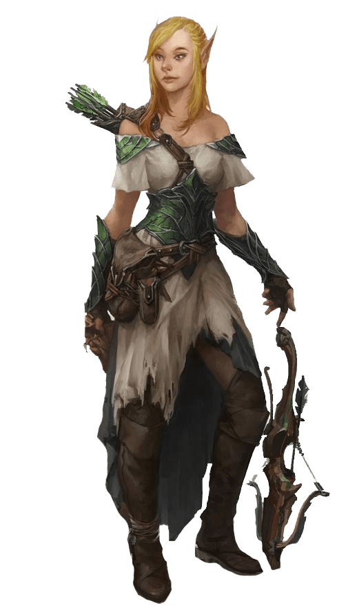 arbalétrier demi-elfe