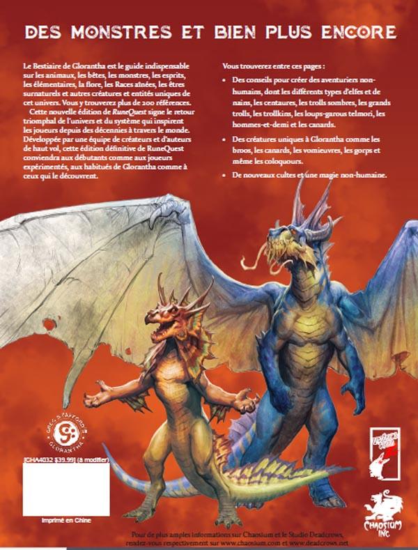 Le Bestiaire de Glorantha