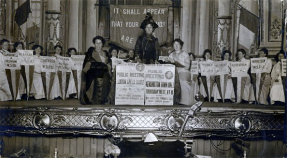 Women's Social and Political Union (WSPU) 1912