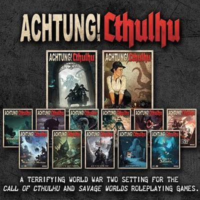 Achtung! Cthulhu PDF Lovers Bundle