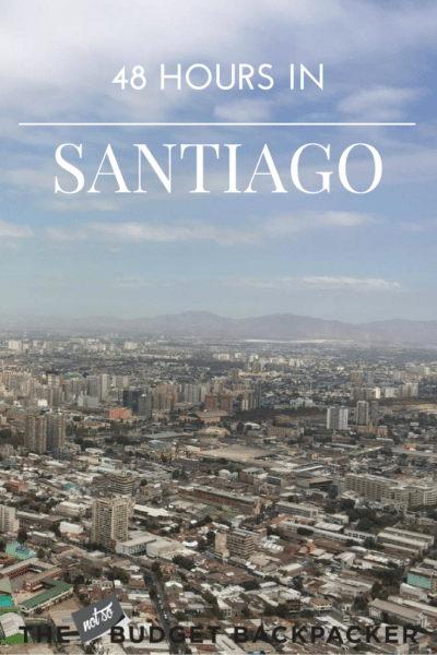 Things to do in Santiago - pinterest