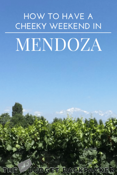 Things to do in Mendoza - Pinterest