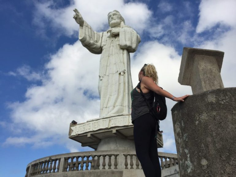 Things to do in San Juan Del Sur -Christ-statue
