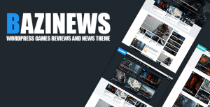 Bazinews - WordPress Games Reviews & News Theme