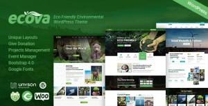 Ecova - Eco Environmental WordPress Theme
