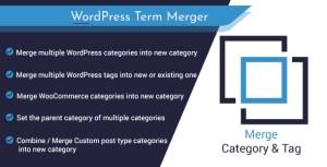 Fusionner plusieurs catégories ou balises dans WordPress et WooCommerce: outil de gestion des termes