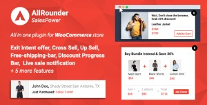 Remise de SalesPower - WooCommerce Cross Sell, Upsell, Notifications vente direct, Bar, intention de sortie