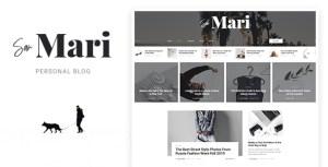 San Mari - Blog PSD Template