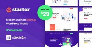 Startor - Modern Business Startup WordPress Theme