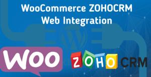 WooCommerce ZohoCRM Web Integration