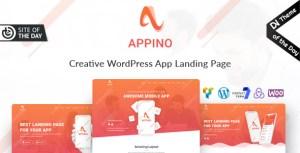 Appino - Creative WordPress App Landing Page