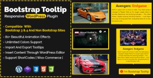 Bootstrap Tooltip - réactif WordPress Plugin