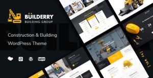 Builderry - Construction and Building WordPress Theme