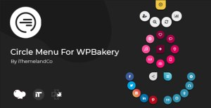 Circle menu pour WPBakery Page Builder (Visual composer)