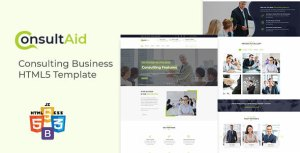 ConsultAid - Consulting Business HTML5 Template