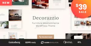Decorazzio - Interior Design and Furniture Store WordPress Theme