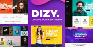 Dizy Portfolio - Creative Portfolio Theme