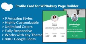 Fiche de profil pour WPBakery Page Builder (anciennement Visual composer)