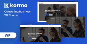 Kormo – Consulting Business WordPress Theme