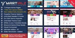 Martialz - Gym Fitness Medical Dental WordPress