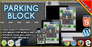 Parking Block - HTML5 Puzzle Game