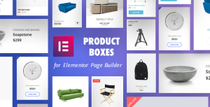 Product Boxes for Elementor Page Builder