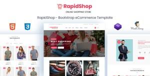 RapidShop - eCommerce Bootstrap HTML Template