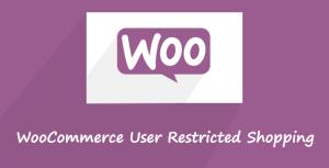 Shopping restreint par l'utilisateur WooCommerce