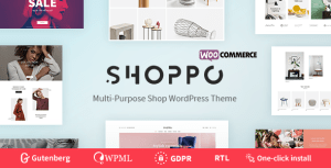 Shoppo - Multipurpose WooCommerce Shop Theme