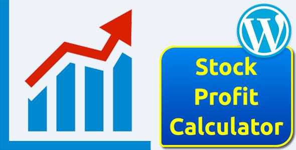 Stock Profit Calculator for WordPress
