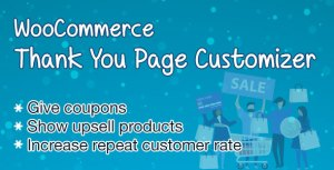 WooCommerce Merci page Customizer-augmenter le taux de rétention des clients-Boost Sales
