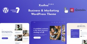 Xzofina - Business And Marketing WordPress Theme