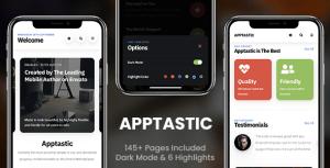 Apptastic Mobile | Mobile Template