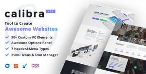 Calibra - Responsive Multi-Purpose WordPress Theme