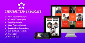 Creative Team Showcase - Team Showcase WordPress Plugin
