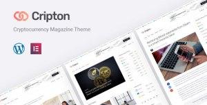 Cripton | Cryptocurrency Magazine WordPress Theme
