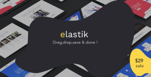 Elastik - SAAS / SEO / Startup / App WordPress Theme