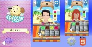 Ice Cream - Relaxing HTML5 Kids game