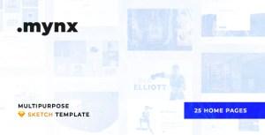 Mynx – Multipurpose Sketch Template
