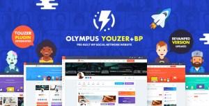 Olympus - Responsive Community & Social Network WordPress Theme