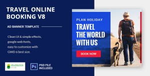 Online Travel Booking AD Banner 08