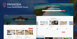 Panagea - Hotel and Tours Booking WordPress Theme