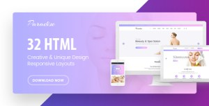 Paradise - Multipurpose HTML Template
